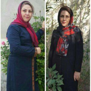 لیلا حاجی اکبری - TMB students results