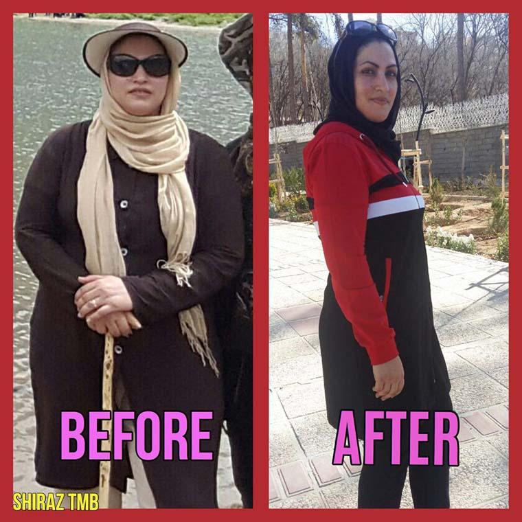 لیلا جلیل دهقان - TMB students results